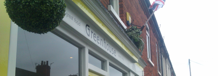 The Greenhouse Coffee Shop in Lincoln | Photo: Charlotte Reid