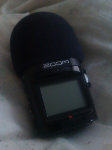 My little Zoom recorder