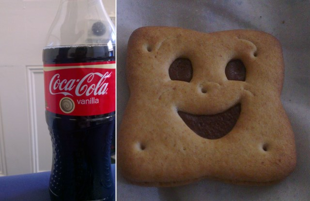 BN biscuits and Vanilla Coca Cola | Photo: Charlotte Reid
